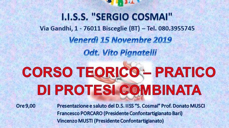 """CORSO TEORICO-PRATICO DI PROTESI COMBINATA """"ANCORA ATTUALE"""""""