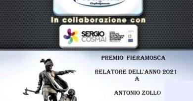 PREMIO FIERAMOSCA-RELATORE DELL'ANNO PREMIO CONFARTIGIANATO ALLA CARRIERA -PROFESSIONE ODONTOTECNICO